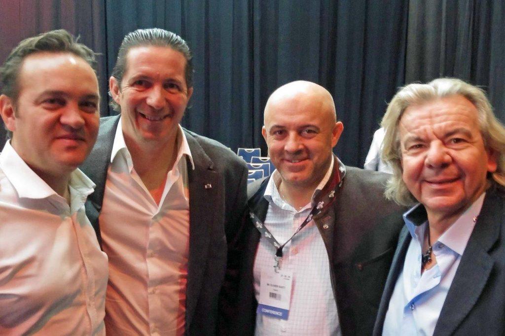Emmanuel Renaut, Christophe Bacquié, Olivier Nasti, JL Rabanel ©GP