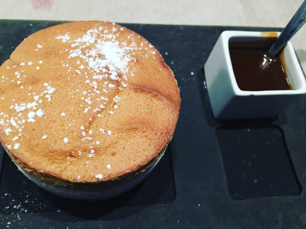 Soufflé au caramel et beurre salé © GP