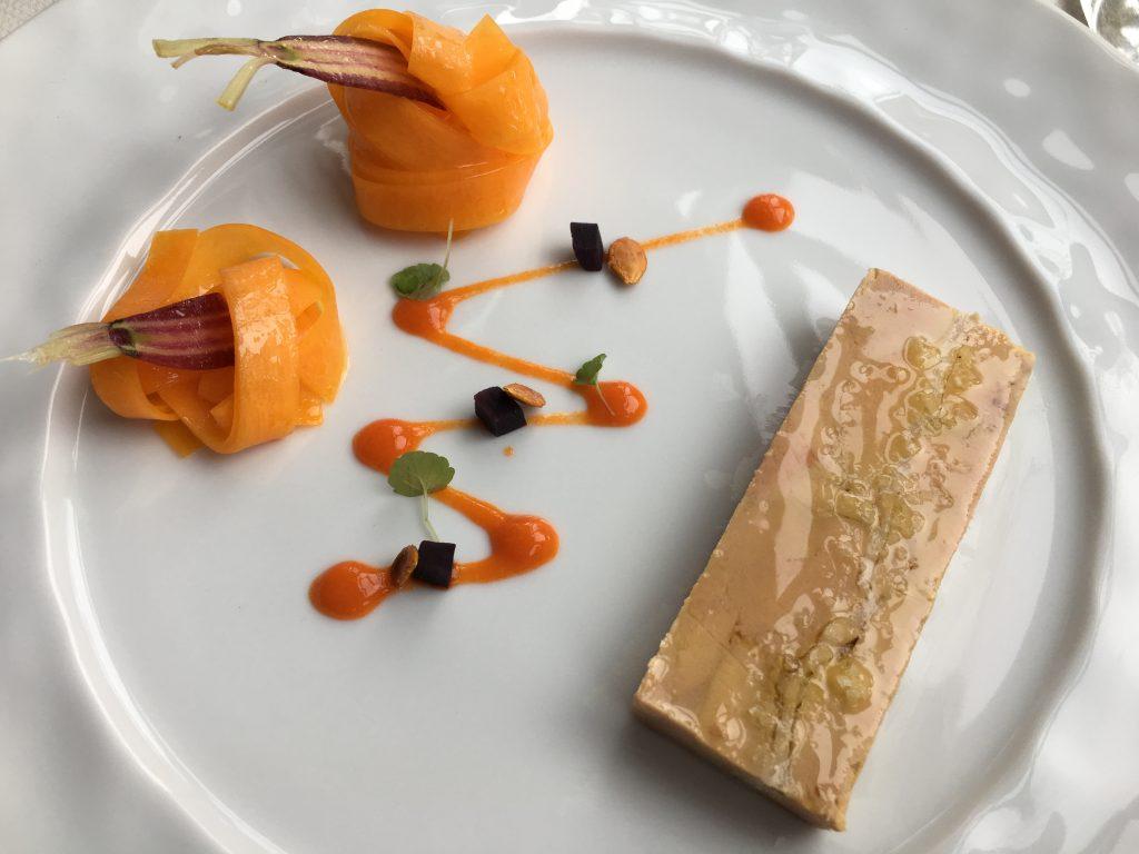Marbré de foie gras et pintadeau © GP
