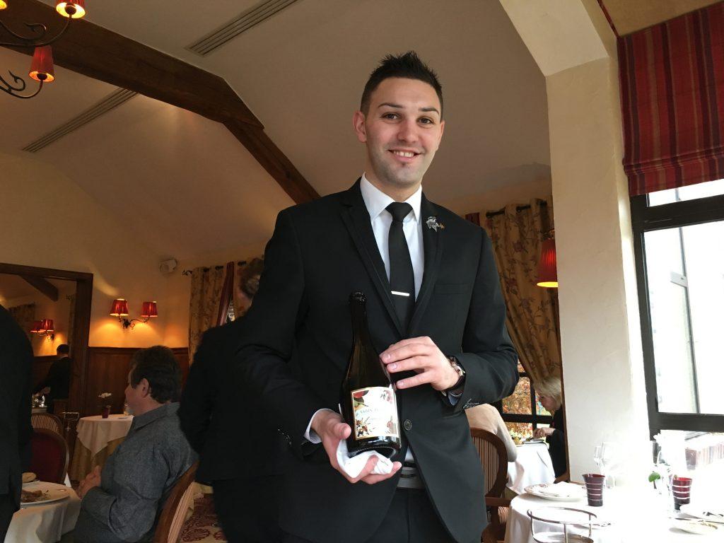 Delphin Cornaille et le service du vin © GP