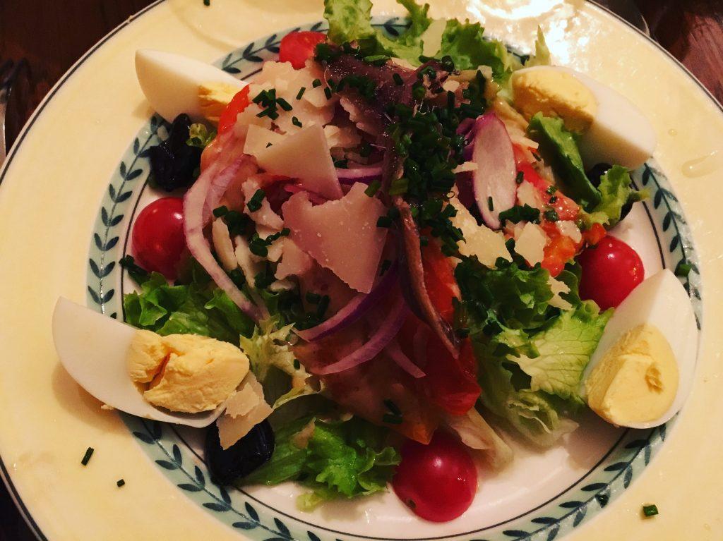 Salade de poivrons © GP