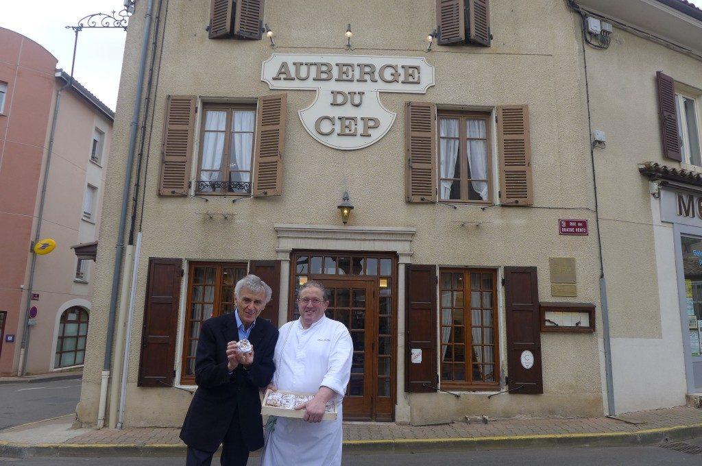 Alain Souliac avec Georges Duboeuf au Cep © GP