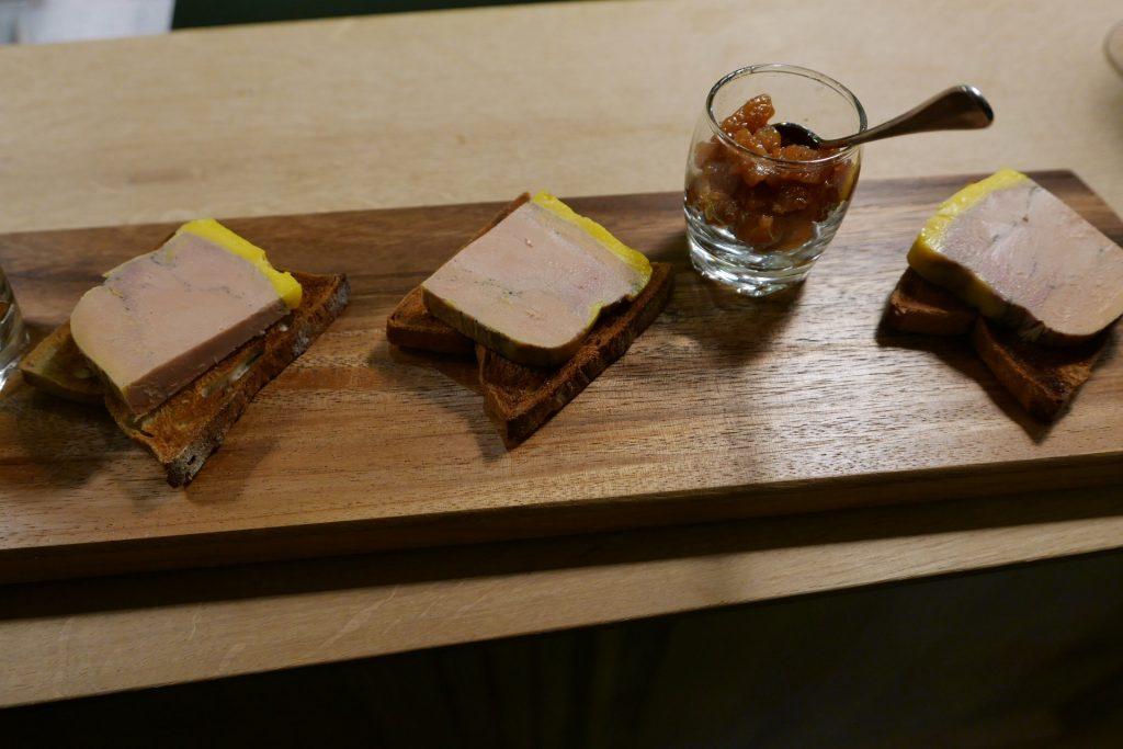 Foie gras et chutney de coing © GP