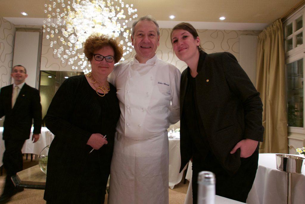 Marie-Christine, Didier et Hélène Clément © GP