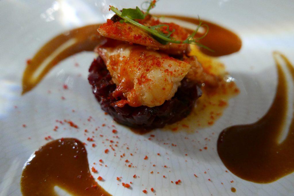 Médaillons de homard aux betteraves © GP