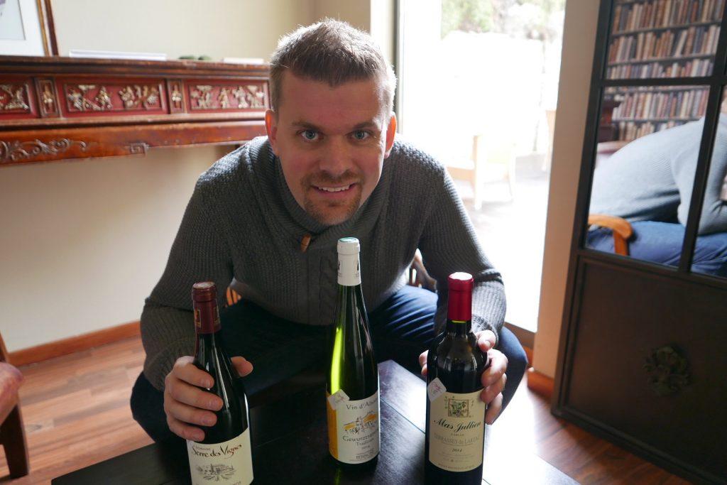 Jean-Samuel et ses vins ©GP