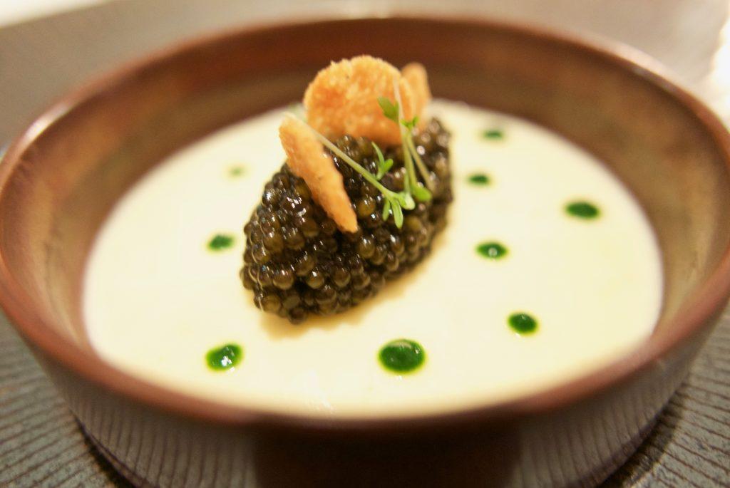 Caviar, pomme de terre © GP