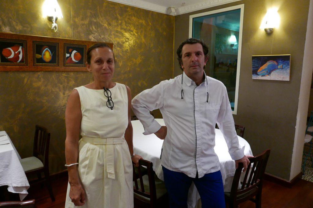 Clémentine et Jean-Christophe Grouvel © GP