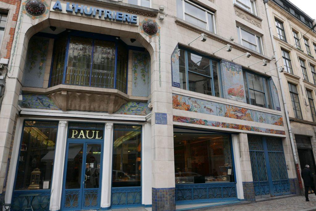 La façade de l'Huitrière revue par Paul © GP