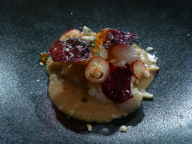 Langoustine, oursin, rose © DC