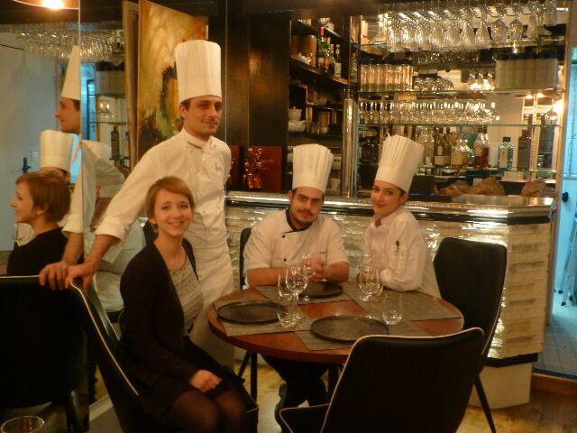 Laurent Magnin, Sophie, Nicolas et Elise ©DC