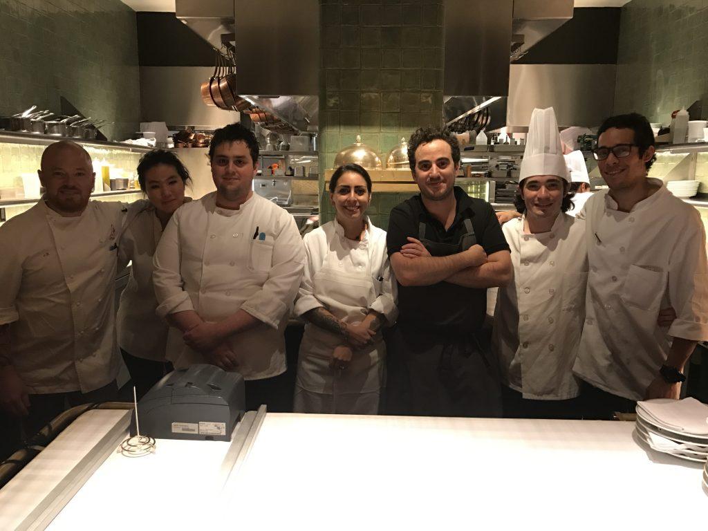 L'équipe de cuisine © AN
