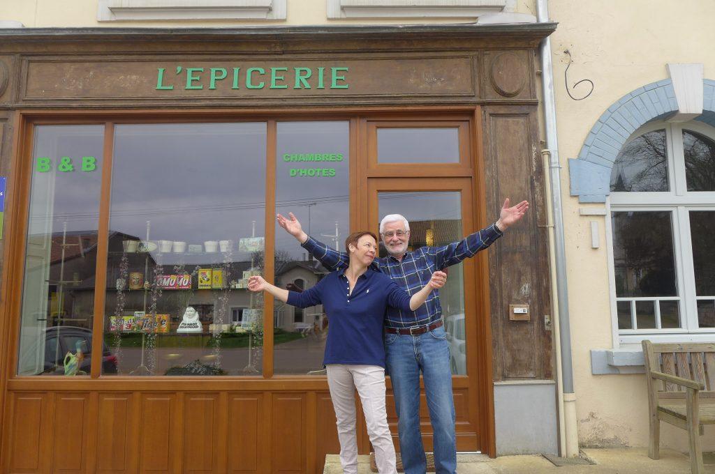 Isabelle et Dominique Dréan © GP