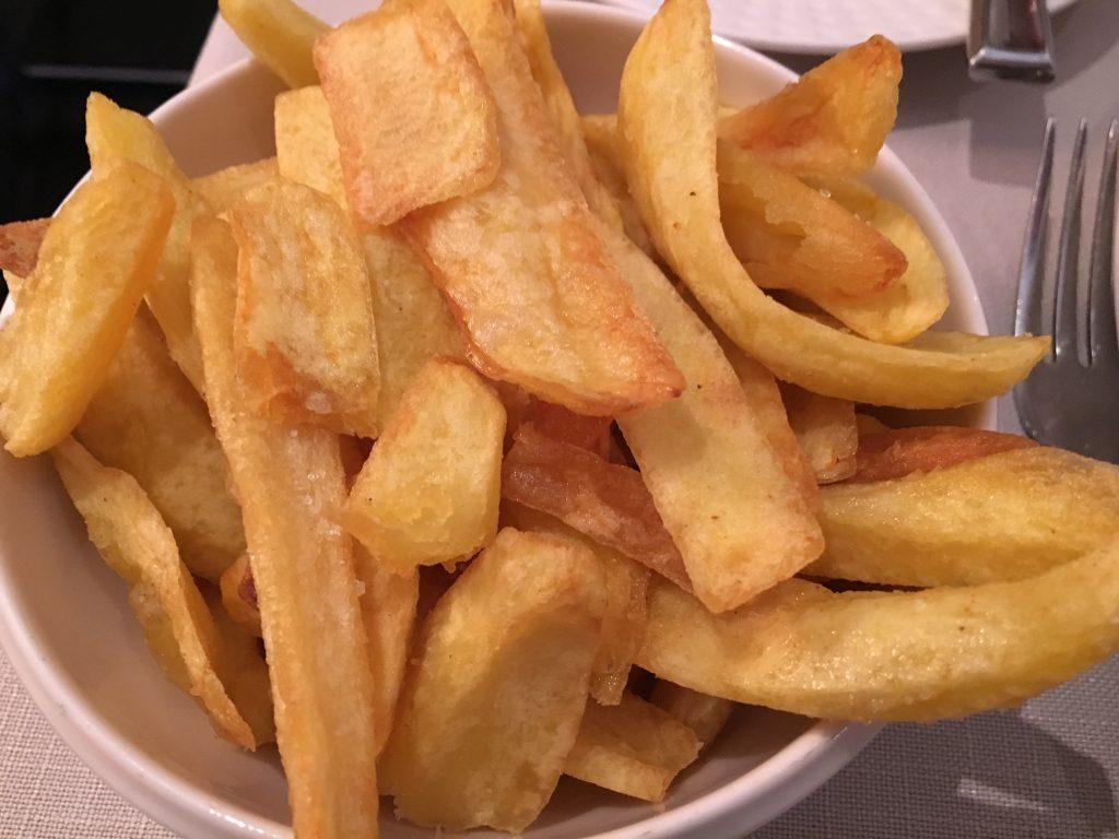 Frites de Mme Clot © GP