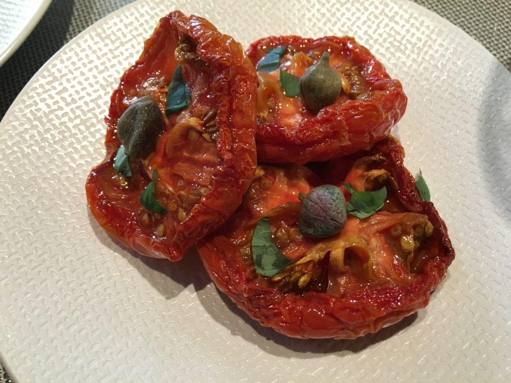 Tomates et câpres © GP