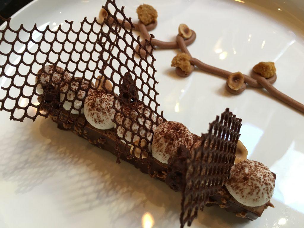 Dacquoise chocolat noisette © GP