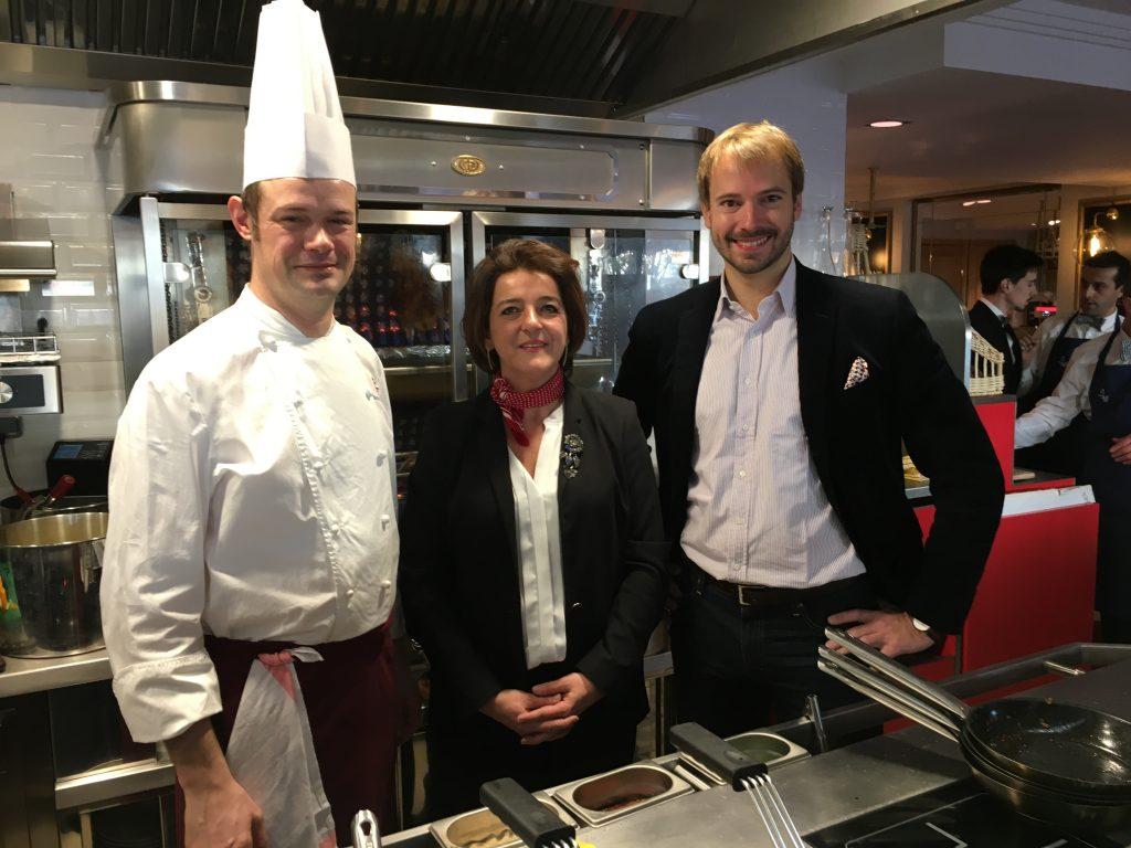 Sébastien, Patricia et André Terrail © GP