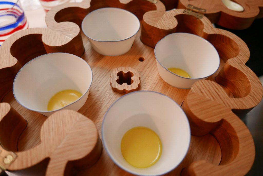 Crèmes à la bergamote © GP