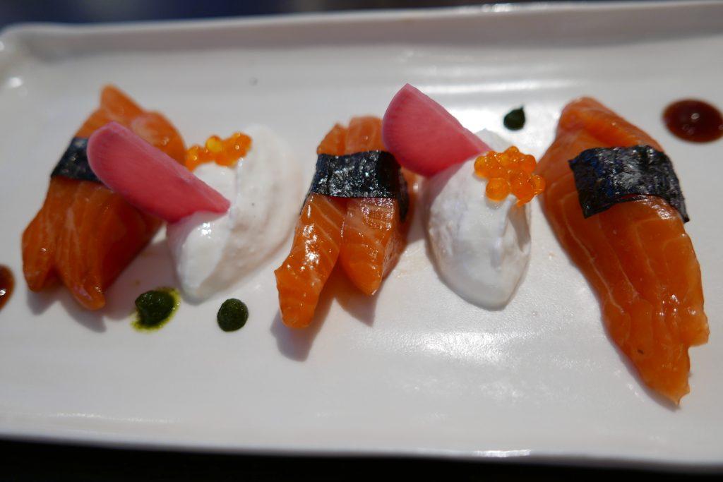 Sashimi de truite ©GP