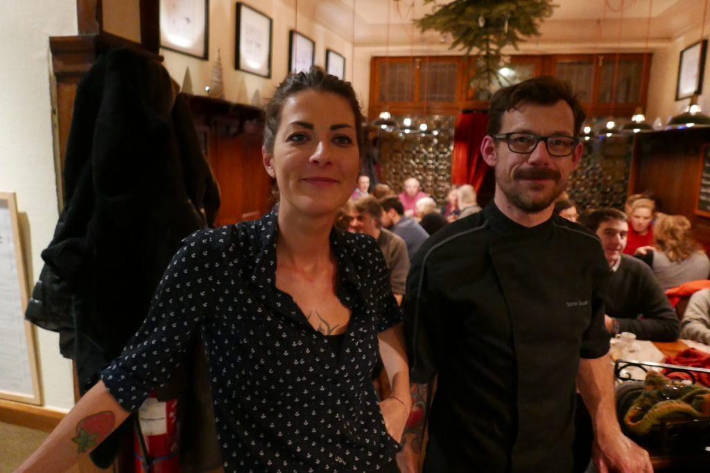 Carole Denis et Stéphane Baudic @ GP