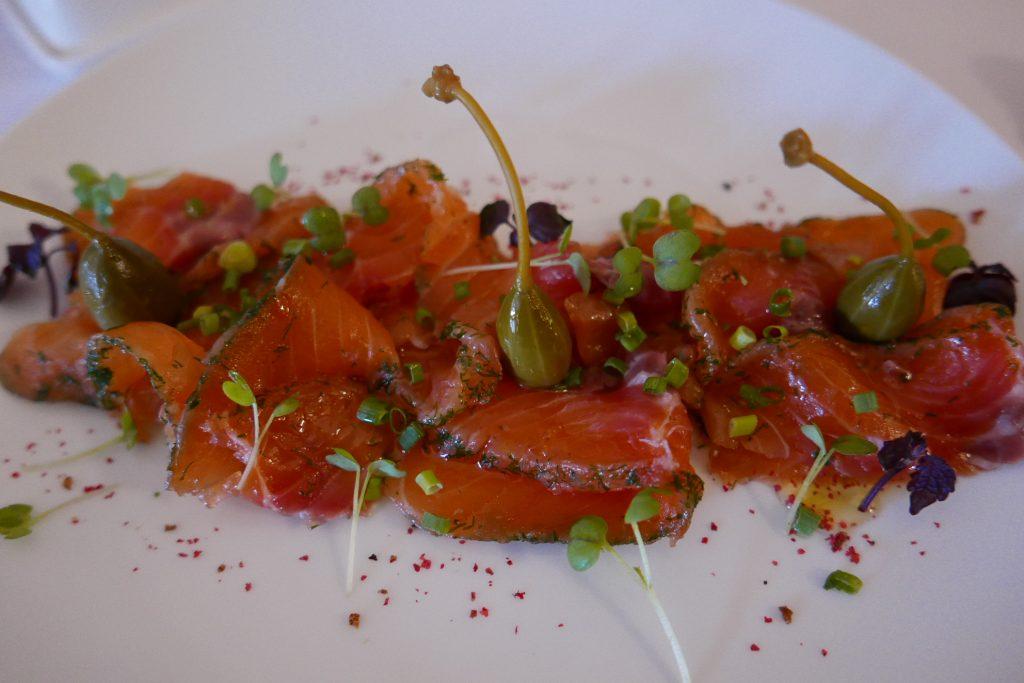 Gravlax de saumon © GP
