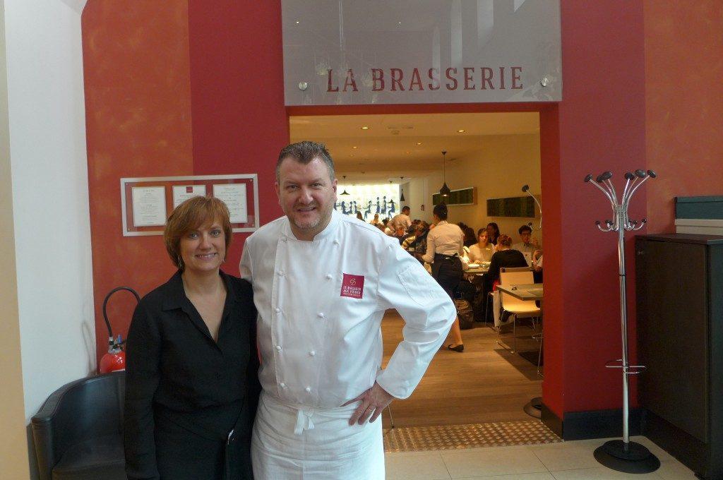 Delphine et Christophe Dufossé ©GP