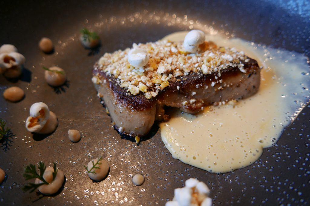 Foie gras poêlé au maïs © GP