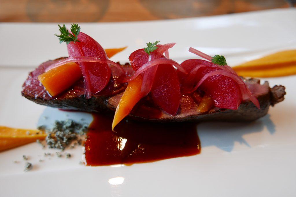 Magret cuit au foin © GP