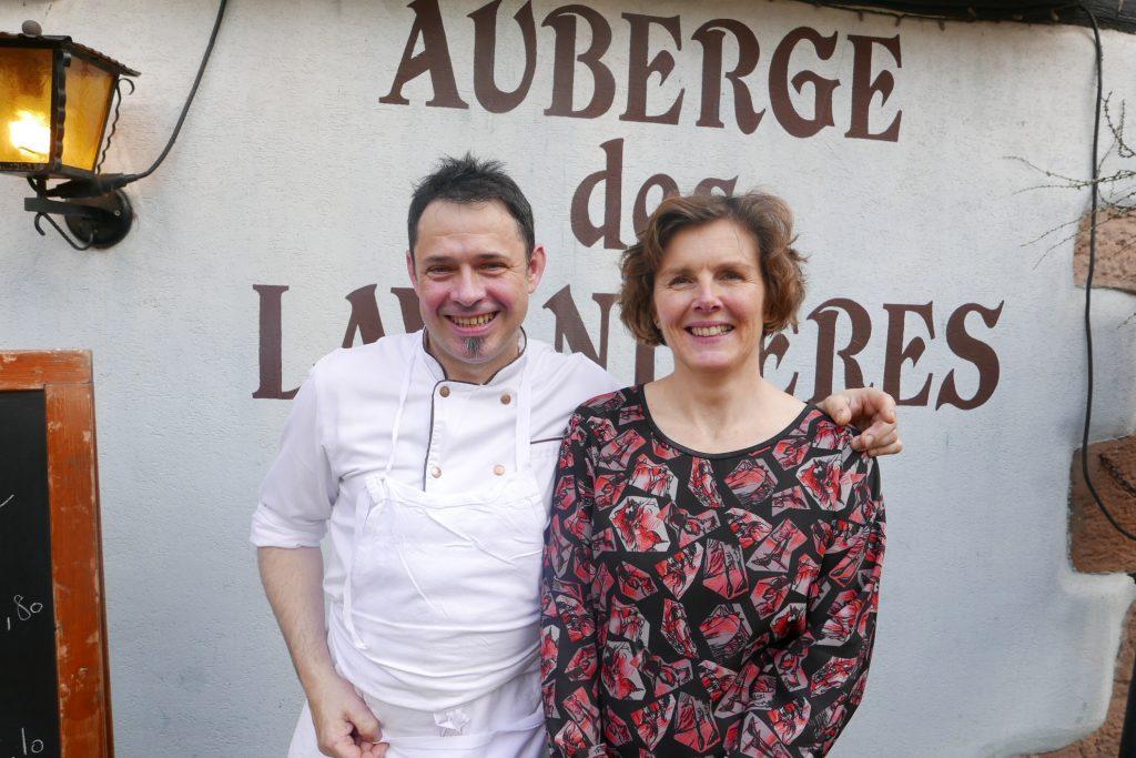 Frédéric et Nathalie Ancelot © GP