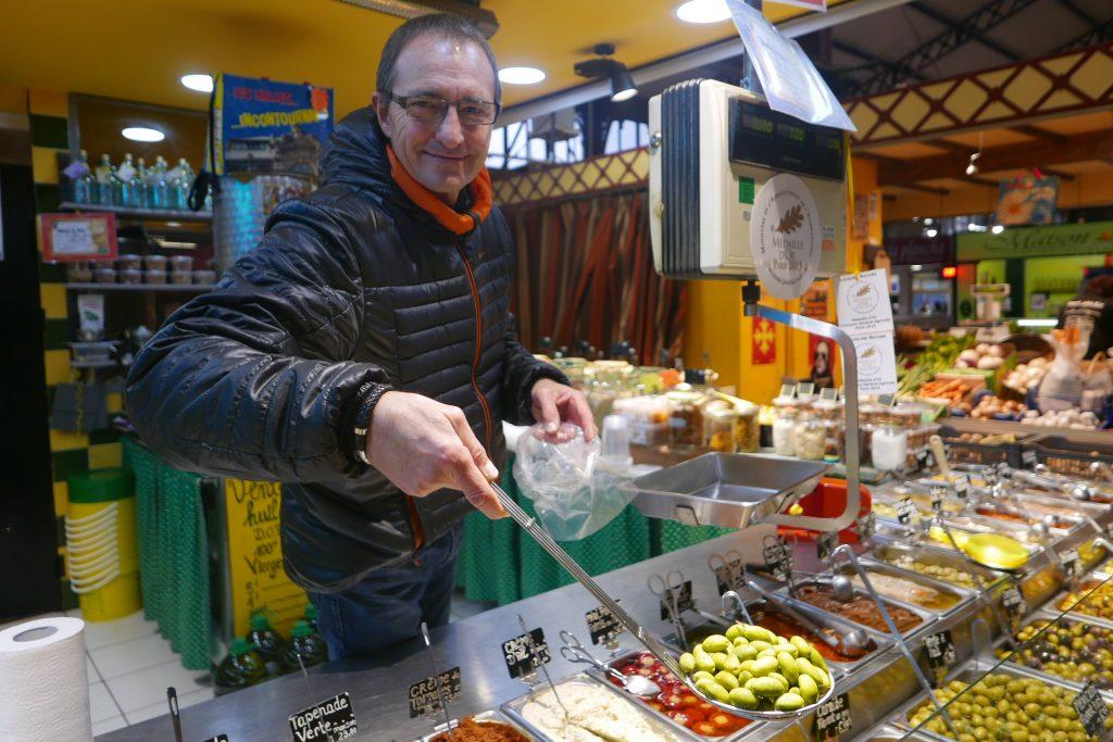 Rudy Sabin et ses olives © GP