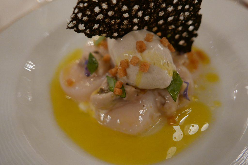 Saint-jacques et huîtres © GP