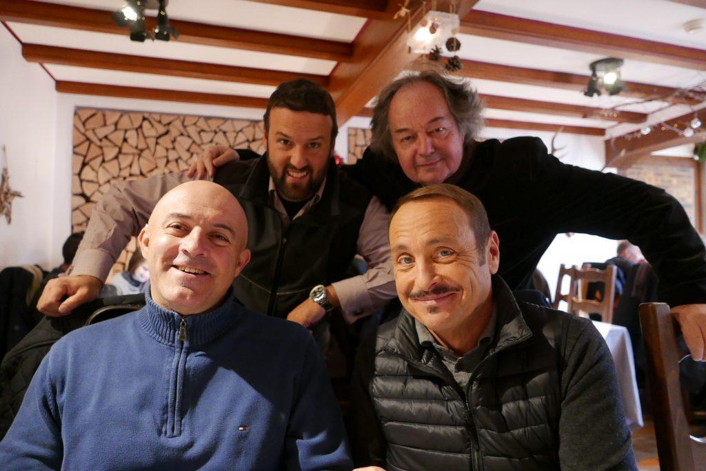 Olivier Nasti, Christophe Frey, Gonzague St Bris, Vincent Ferniot © GP