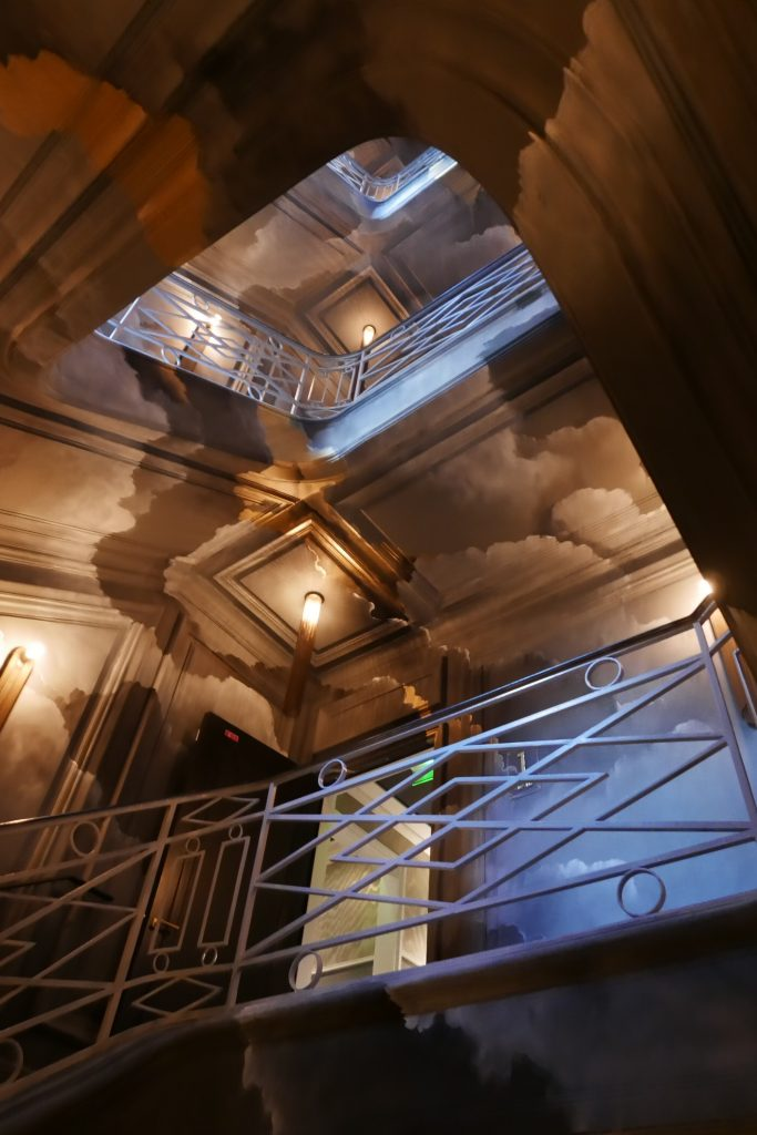 Cage d'escalier © GP