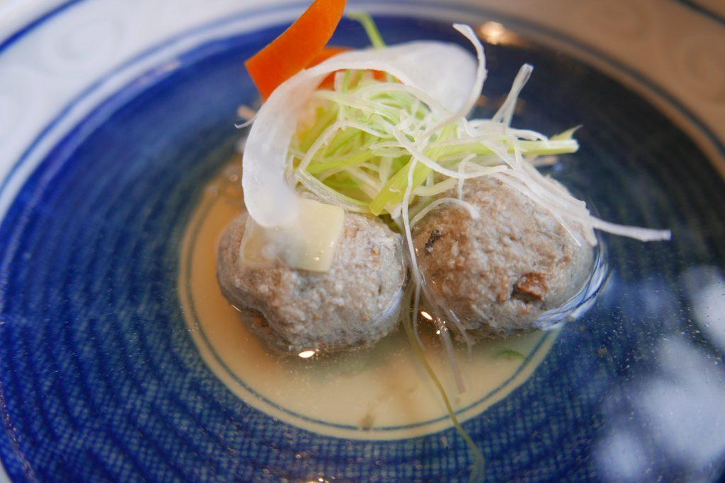 Dango de sardines, bouillon dashi © GP