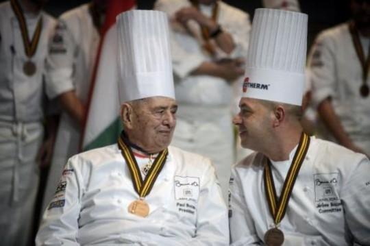 Paul Bocuse et son fils Jérôme © Food & Sens