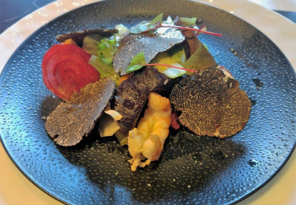 Salade de langoustines © AA