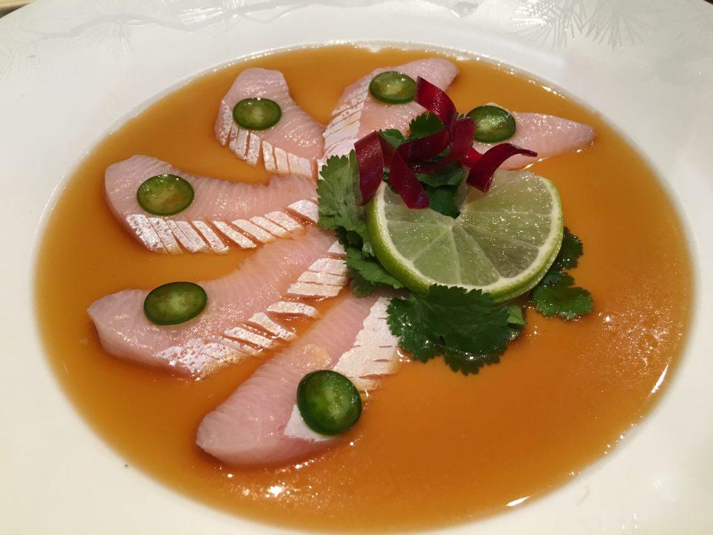 Sashimi de sériole © GP