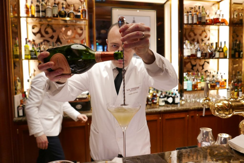 Paris 1er: un verre « ritzy » au Bar Vendôme
