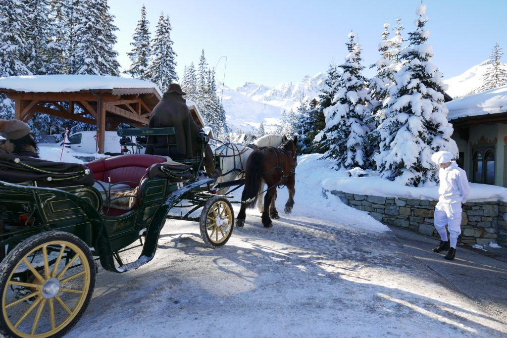 Courchevel: le grand charme des Airelles
