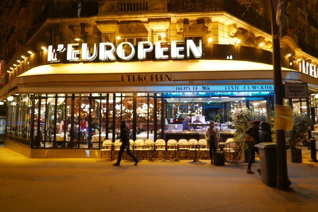Paris 12e : une arrivée en douceur à l'Européen