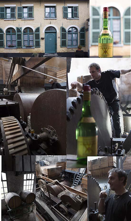 A la Distilllerie de Wambrechies © Maurice Rougemont