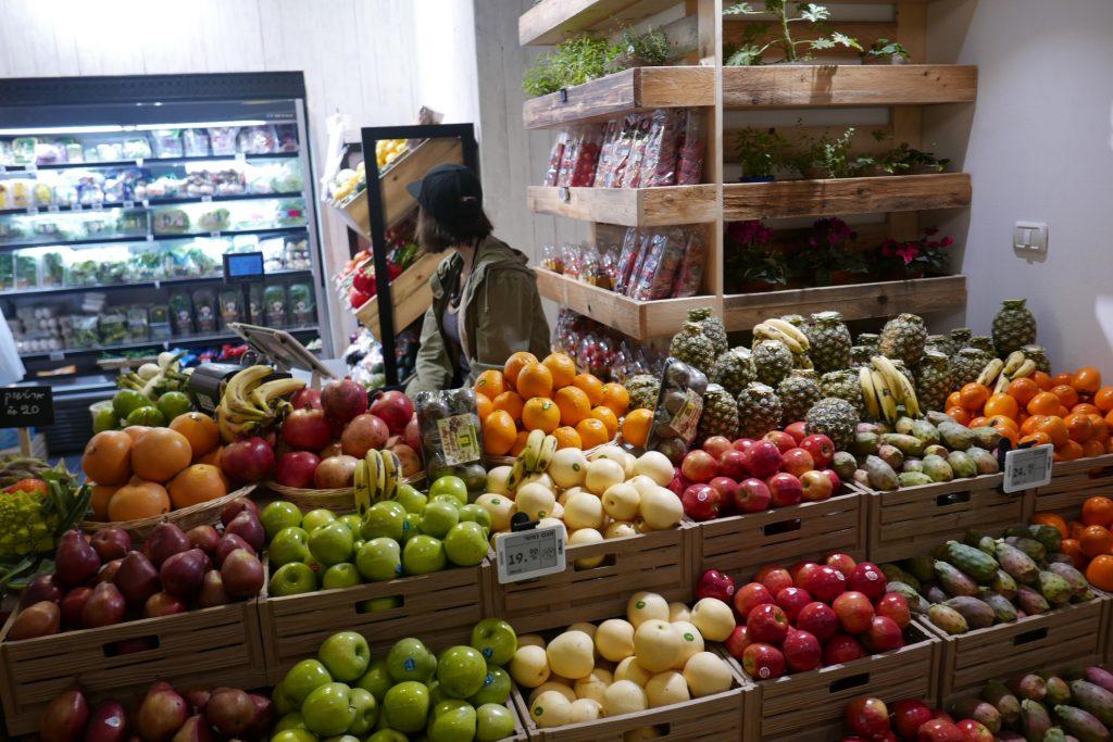 Tel Aviv: au marché Rothschild-Allenby