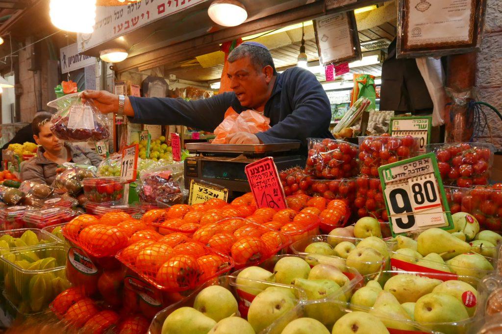 Jérusalem: les couleurs du marché Mahané Yehuda
