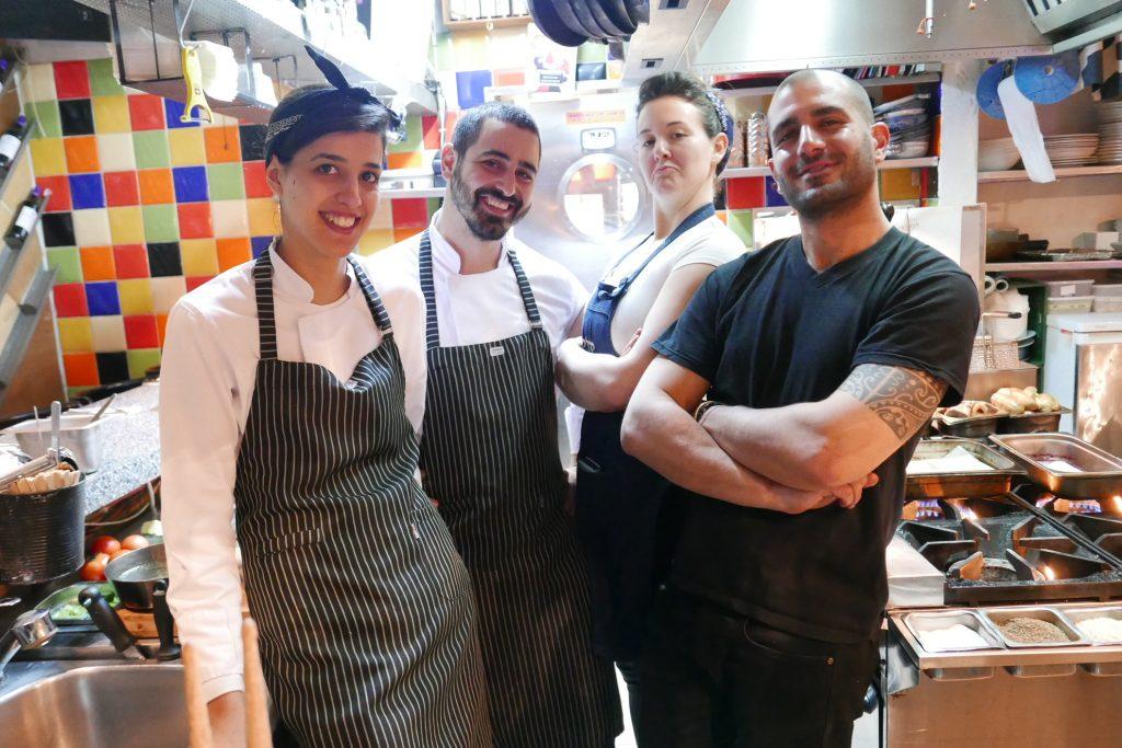 Jérusalem: un plat et plus au Yudale