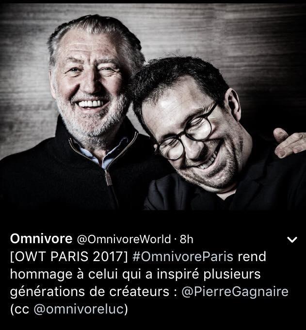 Les chuchotis du lundi: Ducasse soutient Taste of Paris, Omnivore vs Fooding, Marx dans l'espace, les Mavro à la Muette, Delarbre revient, le mystère Aniès, Mère Brazier: l'épicerie aussi, Roth dans la plus belle gare de France, Rouillard remplace Mulot, Rodriguez reprend Jamin