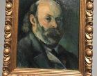 Autoportrait de Cézanne ©GP