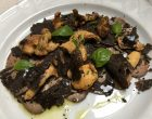 Carpaccio, cèpes et truffes © GP