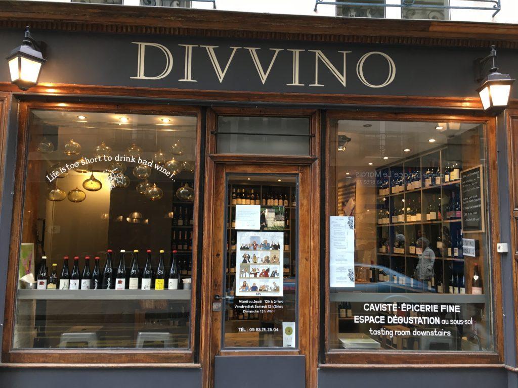 Paris 3e : les vins de Marina
