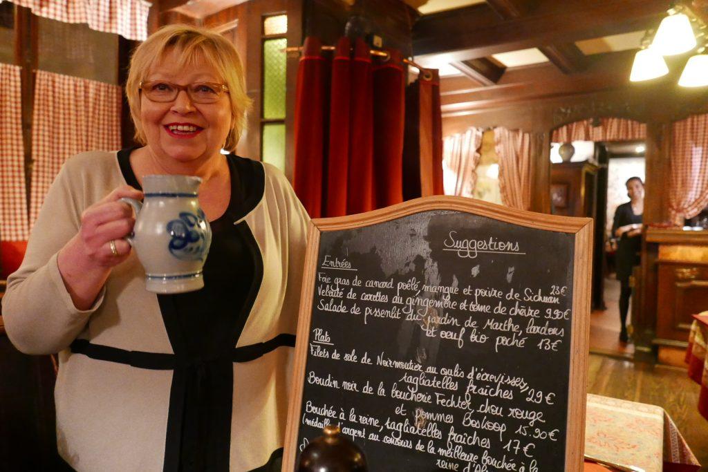 Strasbourg : éternelle Yvonne !