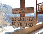 Saint-Véran:  pause aux Chalets du Villard